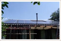 太陽光パネル設置写真
