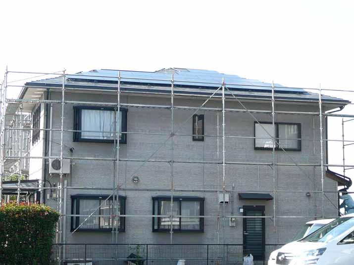 太陽光発電施工画像2【甲府市 Y様邸】