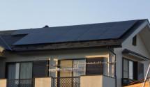 ソーラーフロンティア 太陽光パネル設置者写真