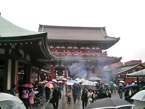 浅草 浅草寺 写真