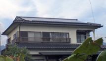 甲州市H様邸 三菱太陽光設置写真