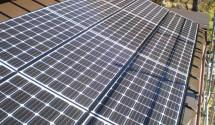 太陽光発電(パナソニック) 工事後写真