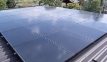 太陽光発電(ソーラーフロンティア) 工事後写真