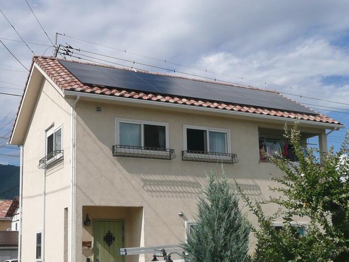 太陽光発電施工画像2【甲府市 H様邸】