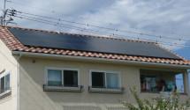 太陽光発電(ソーラーフロンティア) 設置後写真