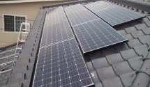 太陽光発電 工事後写真 パナソニック