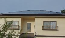 長州産業太陽光発電設置後写真