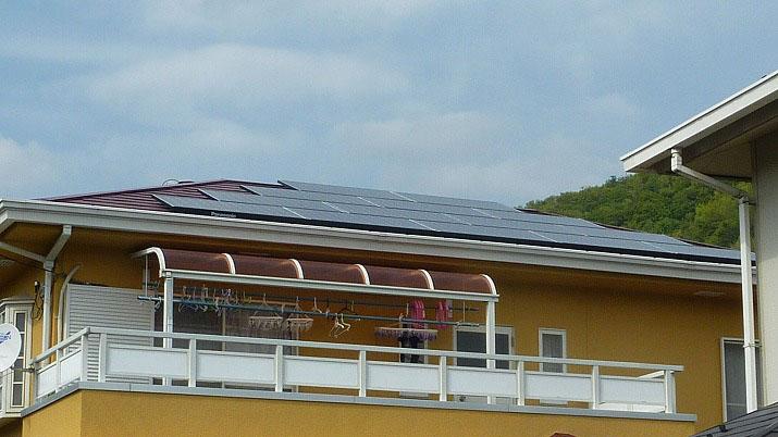 太陽光発電施工画像2【甲府市 M様邸】