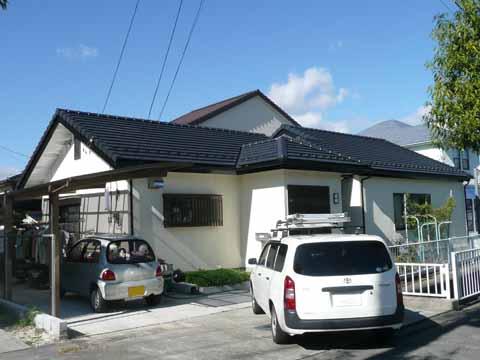 太陽光発電施工画像1【昭和町 A様邸】