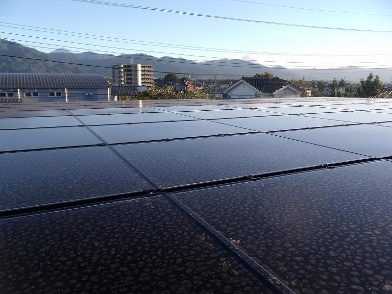 太陽光発電施工画像1【笛吹市 I様邸】