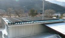 身延町 太陽光発電パネル設置後写真