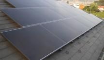 太陽光パネル設置後写真(ソーラーフロンティア)