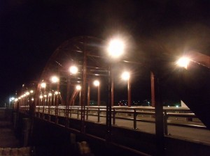 ライトアップ 亀甲橋