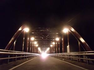 亀甲橋 ライトアップ写真