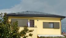 甲州市 太陽光発電設置後写真(パナソニック)