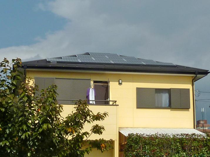 太陽光発電施工画像2【甲州市 K様邸】