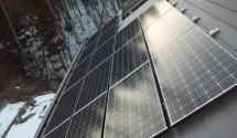 北杜市太陽光発電設置後写真(パナソニック)