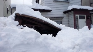 カーポート雪害