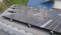 笛吹市 太陽光発電設置後写真(パナソニック)