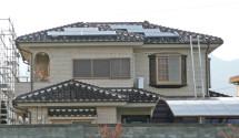 山梨県山梨市 パナソニック太陽光発電設置写真