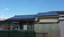 太陽光発電設置後写真(パナソニック)