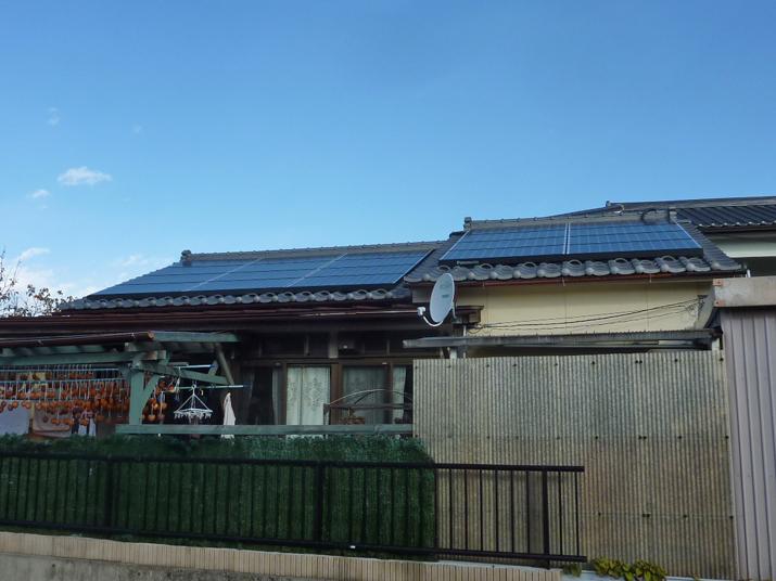 太陽光発電施工画像2【甲州市 T様邸】
