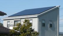 山梨県中央市 太陽光発電設置後写真