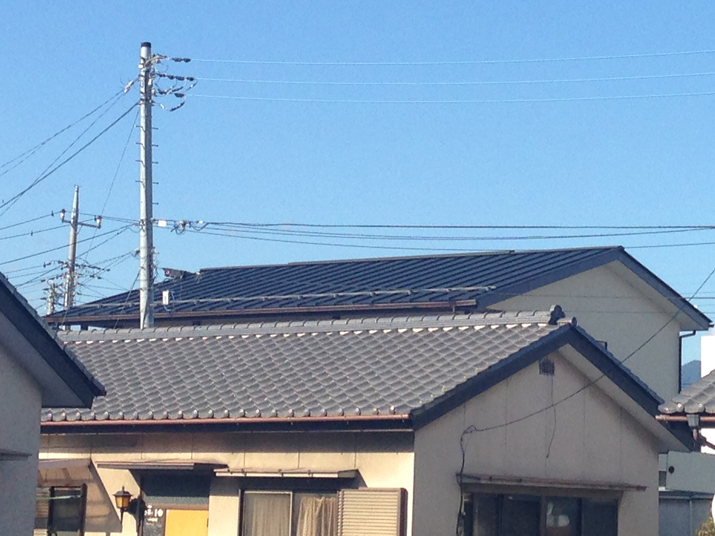 太陽光発電施工画像1【甲府市 K様邸】
