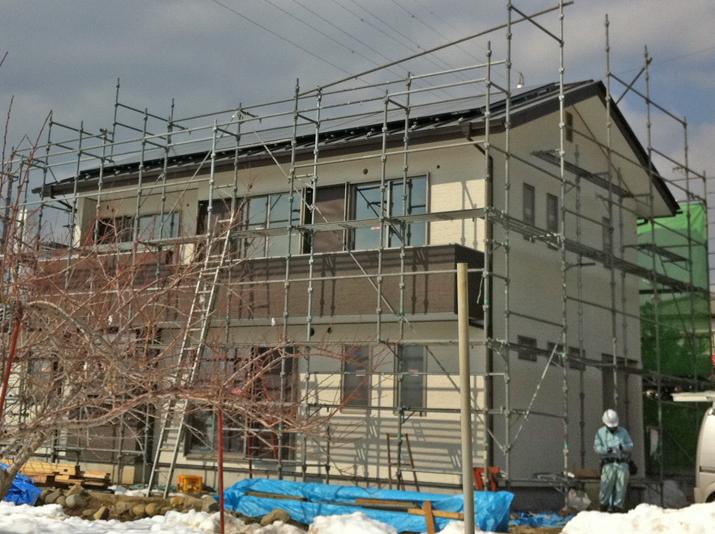 太陽光発電施工画像1【甲州市 A様邸】