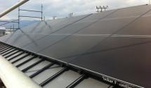 山梨県甲州市 太陽光発電設置後写真