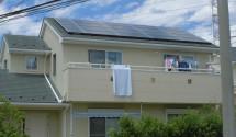 甲斐市 太陽光施工後写真