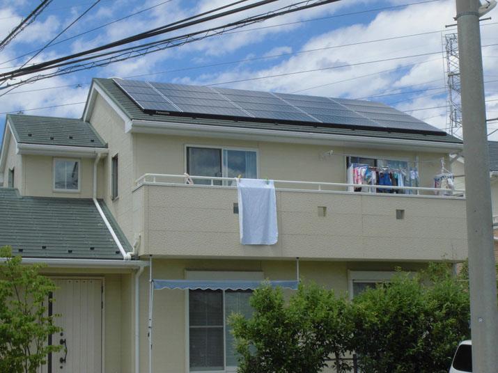 太陽光発電施工画像1【甲斐市 M様邸】