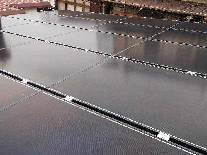 太陽光発電施工画像1【笛吹市 K様邸】