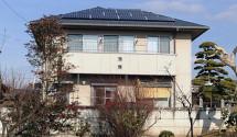 甲斐市 パナソニック太陽光発電設置後写真