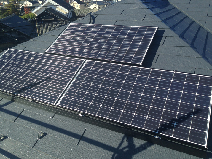 太陽光発電施工画像2【甲斐市 N様邸】