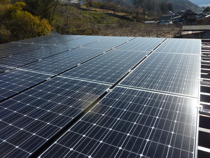太陽光発電施工画像1【山梨市 M様邸】