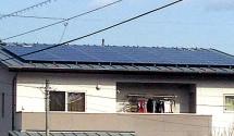 パナソニック太陽光発電設置後写真