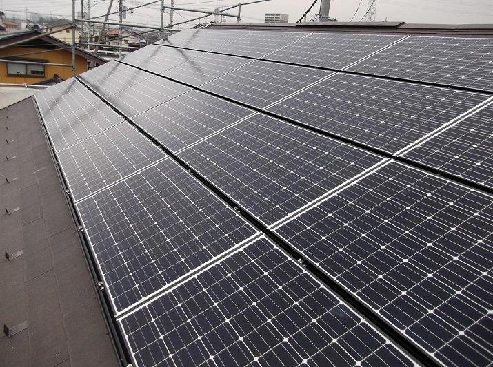 太陽光発電施工画像1【甲府市 S様邸】