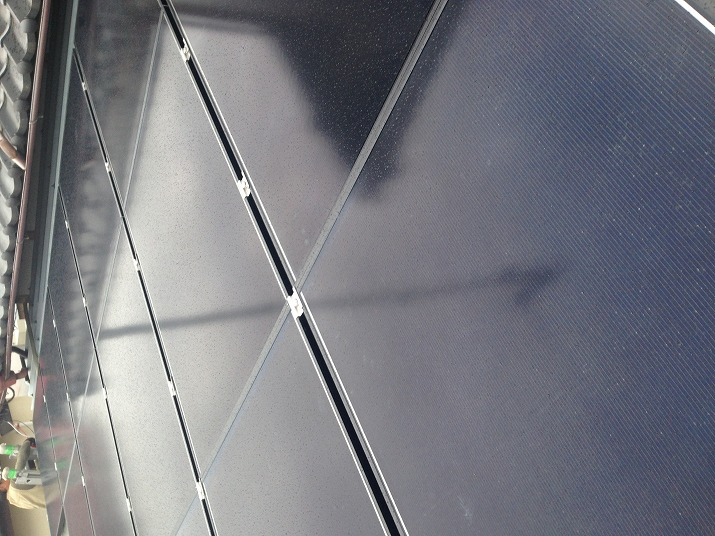 太陽光発電施工画像1【山梨市 K様邸】