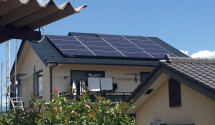 韮崎市 太陽光発電システム施工後の写真
