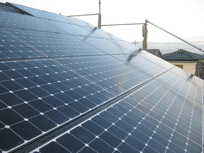 太陽光発電施工画像2【韮崎市 Y様邸】