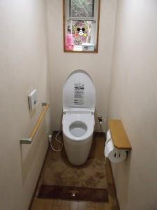 リフォーム後トイレ写真