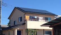 南アルプス市 太陽光発電事例写真 ソーラーフロンティア