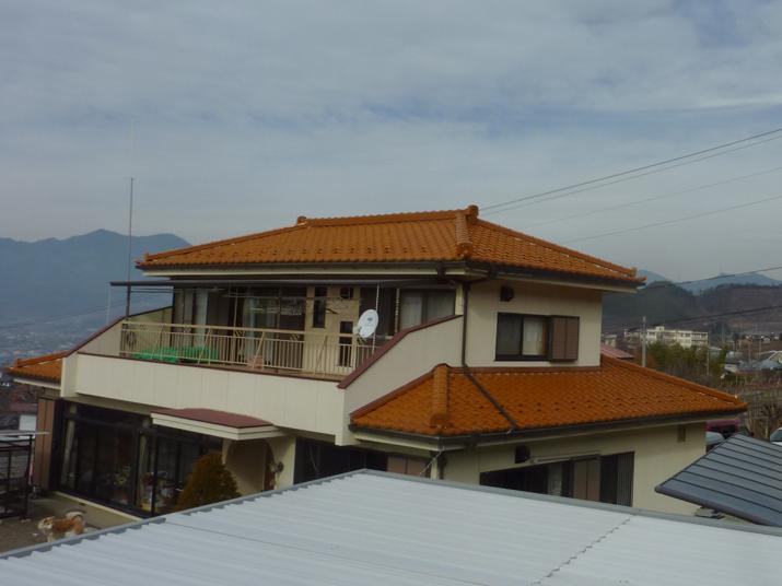 太陽光発電施工画像1【甲州市 M様邸】