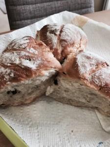 OBのお客様から頂いたパン