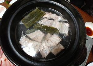 鰤しゃぶの鍋
